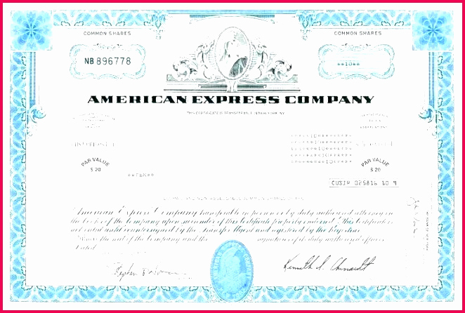 Common Stock Certificate Template Best Of 6 Free Mon Stock Certificate Template