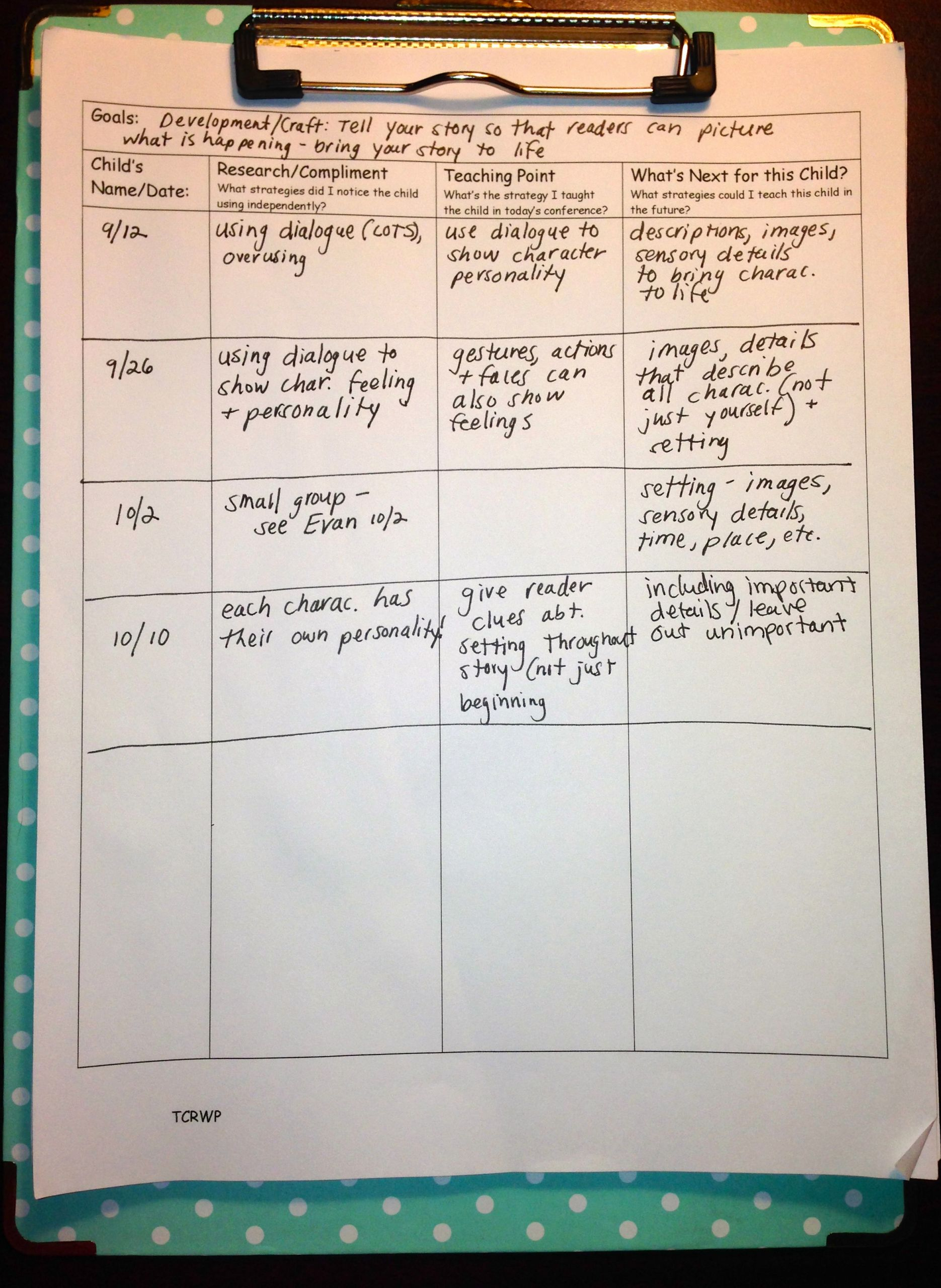 Conference Notes Template for Teachers Best Of Tailoring Our Teaching No Need to Wing It if You've Got