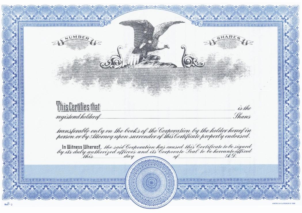 duke 3 stock certificates