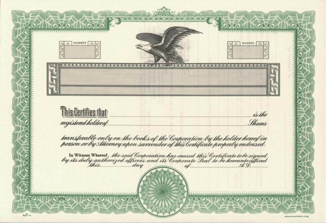 Corporate Stock Certificate Template Word Elegant Stock Certificate Template Word 2018