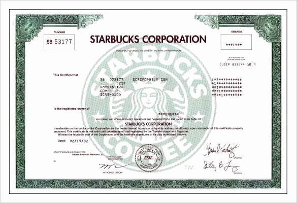 Corporate Stock Certificates Template Free Awesome 24 Stock Certificate Templates Psd Vector Eps