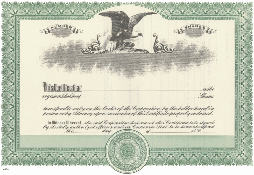 Corporate Stock Certificates Template Free Lovely Duke 2 Stock Certificates