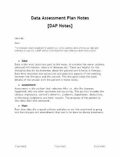 Counseling Case Notes Template Inspirational Dap Notes Example – Laustereo