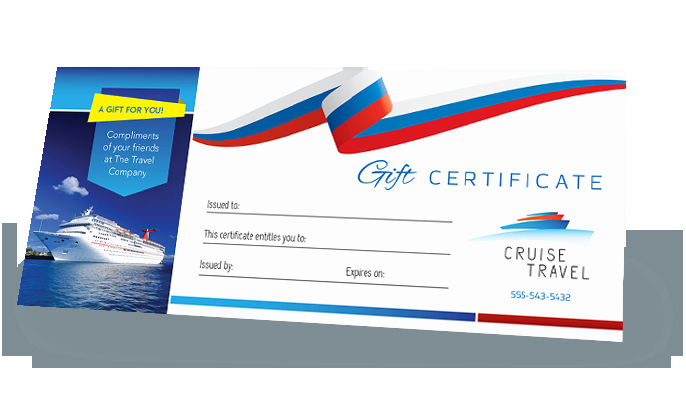 Cruise Gift Certificate Template Inspirational Make A Gift Certificate Design Easily Customize Templates