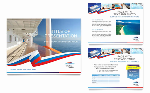 Cruise Travel Gift Certificate Templates TR D