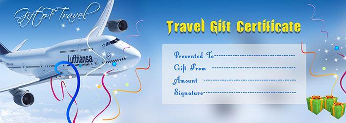 Cruise Gift Certificate Template Unique Travel Gift Voucher Certificate Template