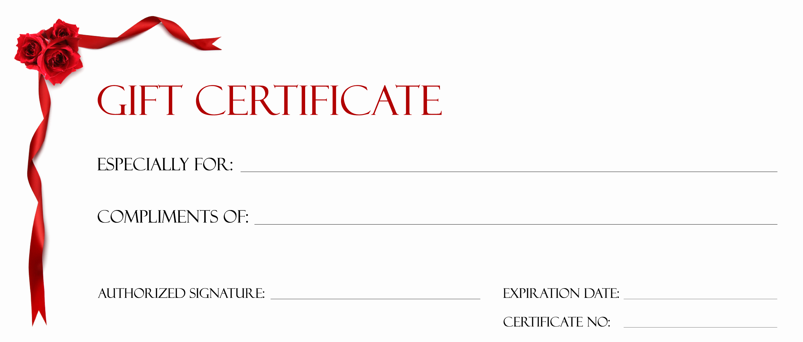 Custom Gift Certificate Template Free Awesome Gift Certificate Make Your Own