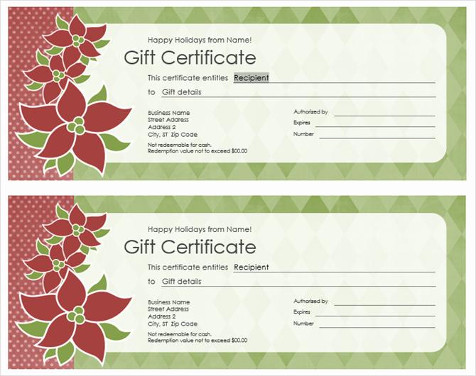Custom Gift Certificate Template Free Best Of Get A Free Gift Certificate Template for Microsoft Fice