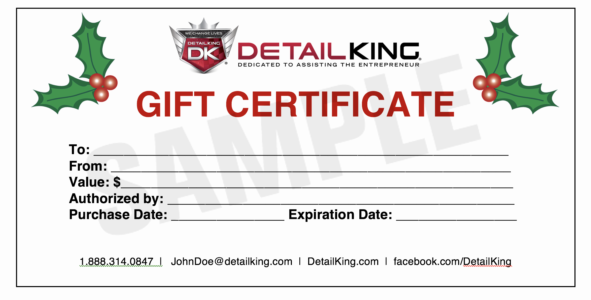 Custom Gift Certificate Template Free Luxury Give Your Customer S A Gift for Any Season