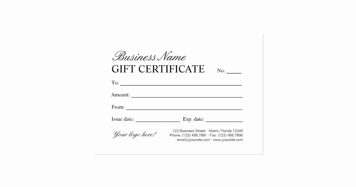 Custom Gift Certificate Template Lovely Vintage Store & Boutique Gift Certificate Template