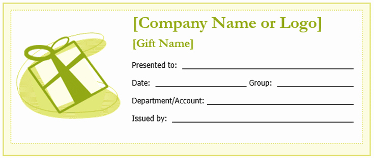 Customizable Gift Certificate Template Unique Free Gift Certificate Templates You Can Customize