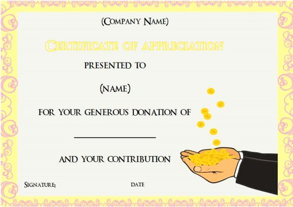 Dental Gift Certificate Template Elegant 22 Best Donation Certificate Templates Images On Pinterest