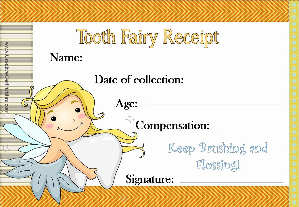 Dental Gift Certificate Template Lovely Pin by Crafty Annabelle On tooth Fairy Printables & Crafts