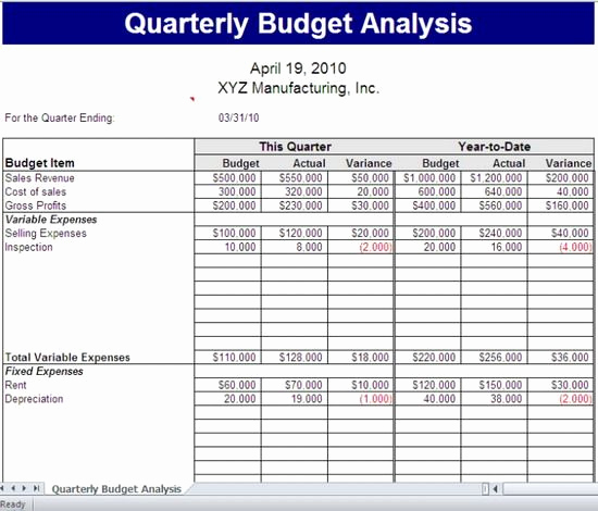 Department Budget Template Excel Beautiful 43 15 Best Microsoft Fice Excel 2010 Bud Ing Templates