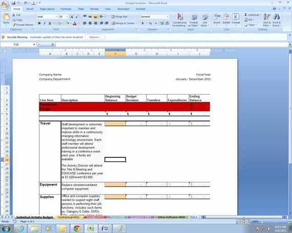 Department Budget Template Excel Lovely Items Similar to Higher Education Department Bud Excel