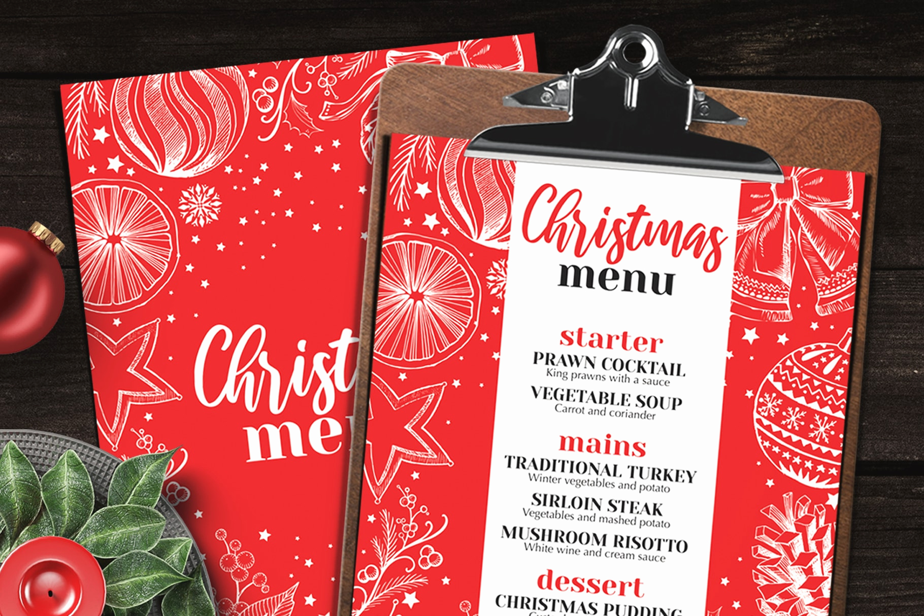 Dinner Menu Template Free Best Of 10 Best Christmas Restaurant Menu Templates Barcelona