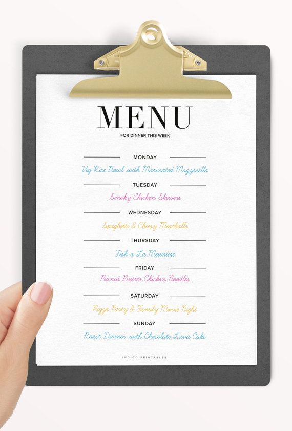 Dinner Menu Template Free Lovely Dinner Menu 2 Pages