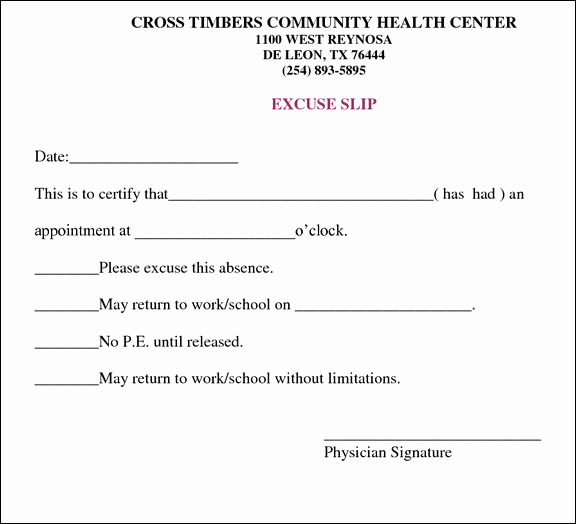 Doctor Excuse Note Template Best Of 13 Doctors Note Templates Fake & Excuse Samples