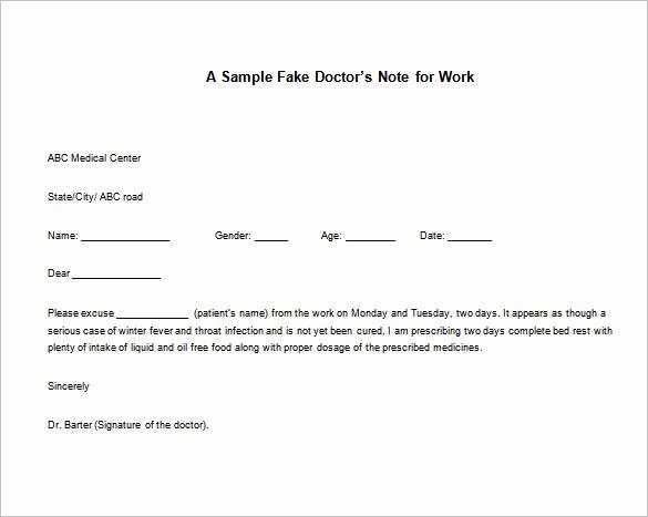 Doctor Note Template for Work Elegant 24 Best Doctors Note for Work Images On Pinterest