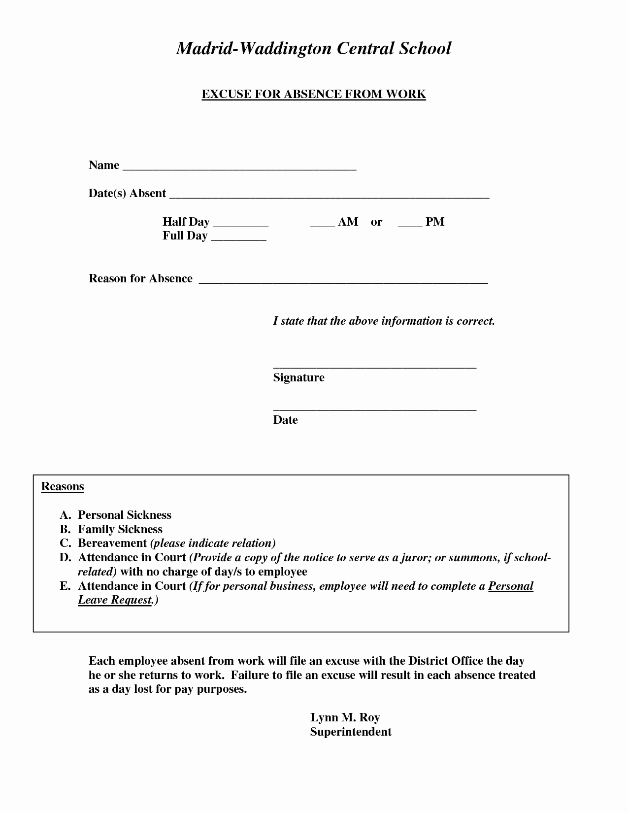 Doctors Notes for Work Template Inspirational Doctors Excuse for Work Template