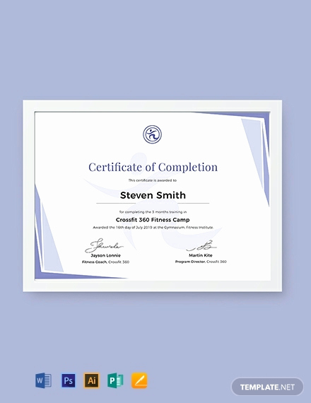 Dog Training Certificate Template Best Of 13 Free Training Certificate Templates Word