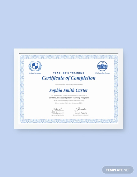 Dog Training Certificate Template Elegant Free Industrial Training Certificate Template Download