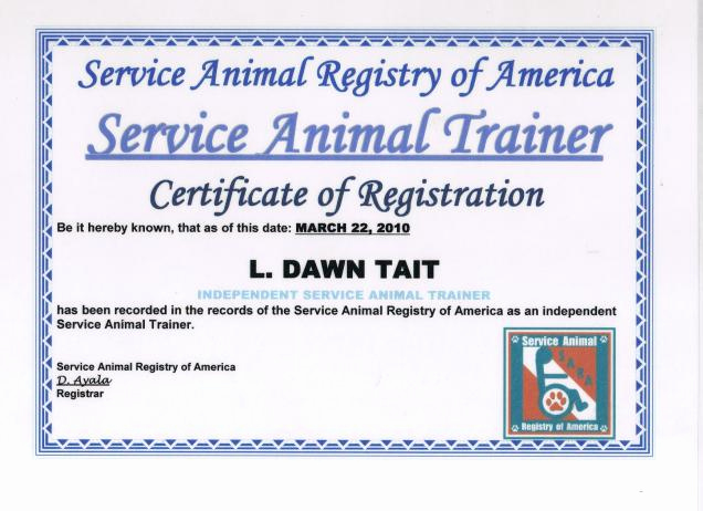 Dog Training Certificate Template Fresh Service Dog Certificate Template