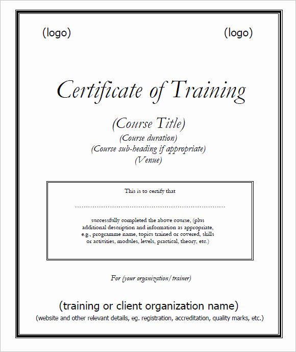 Dog Training Certificate Template Luxury Service Dog Certificate Pdf
