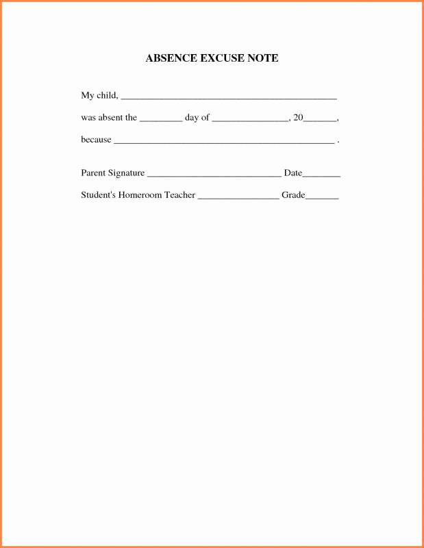 Dr Notes for Work Template Beautiful Doctors Note for Work Absence