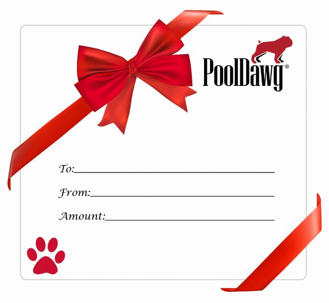 Email Gift Certificate Template Beautiful Pool Cue Gift Card Gift Certificate for Pool and