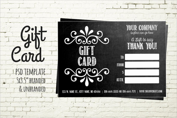 Email Gift Certificate Template Inspirational 8 Sample Gift Card Templates