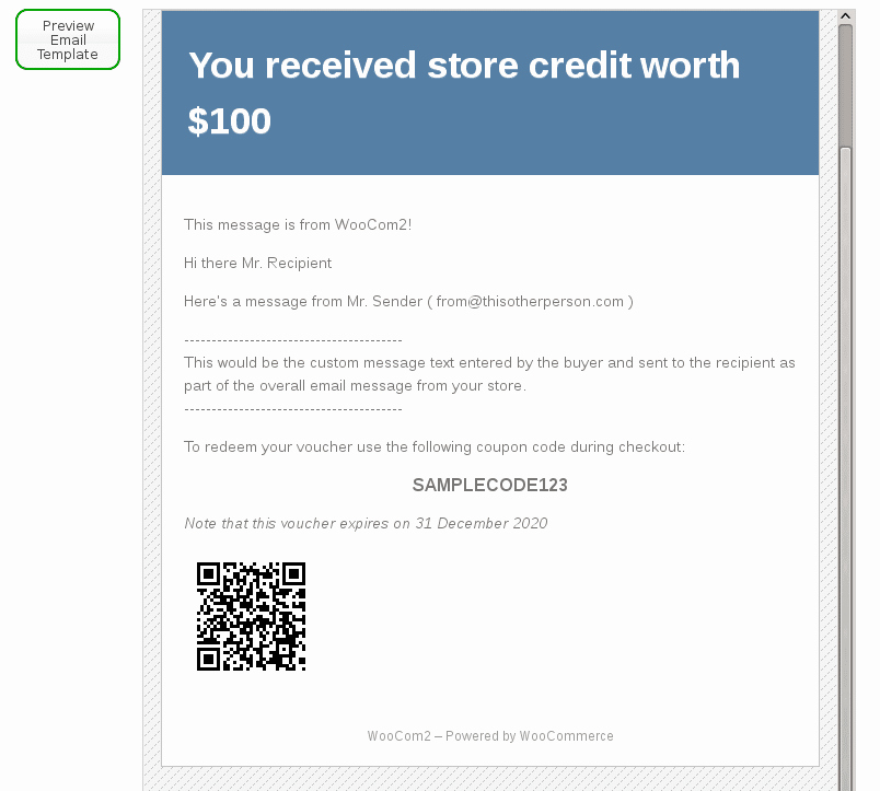 Email Gift Certificate Template Lovely Woo Merce Gift Certificates Pro