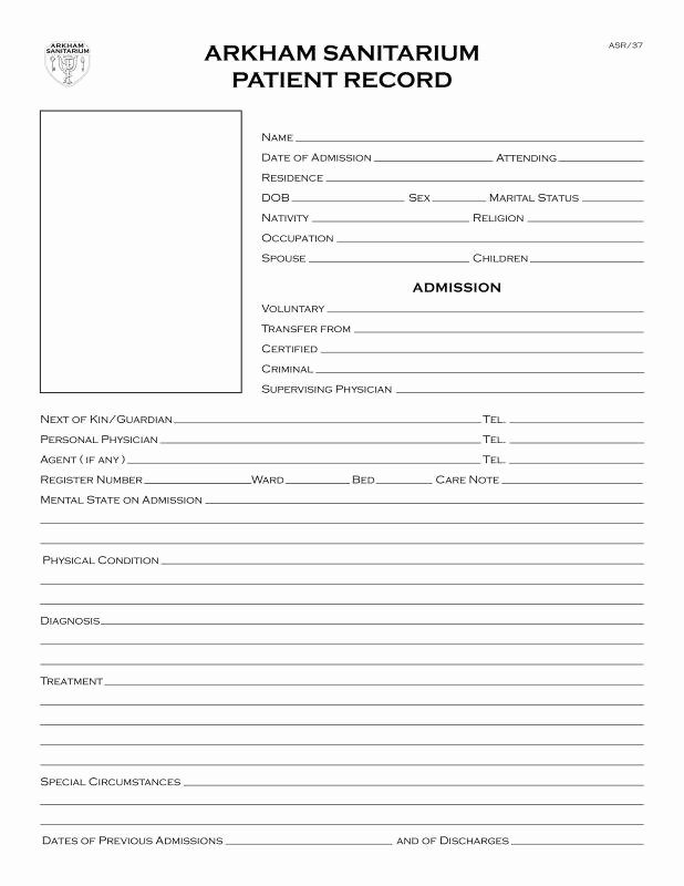 Emergency Room Note Template Luxury Emergency Room Discharge Papers Template