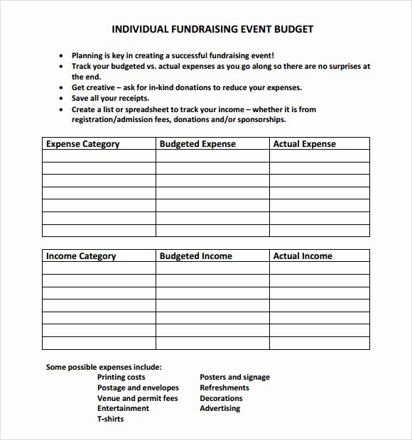 Event Budget Proposal Template Beautiful 15 event Bud Samples In Google Docs