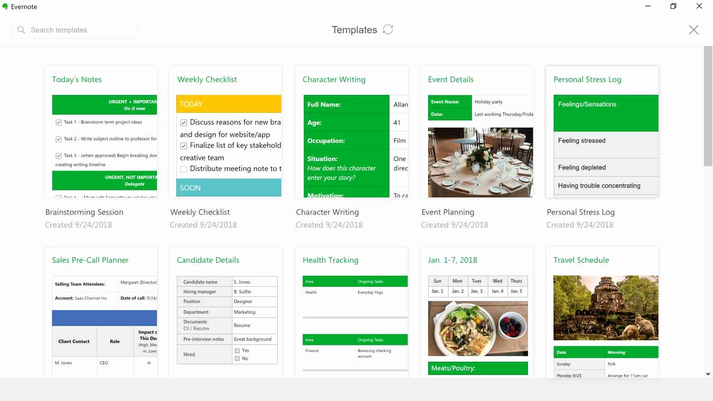 Evernote Project Management Template Elegant Download Evernote App for Windows 10 [download Link and