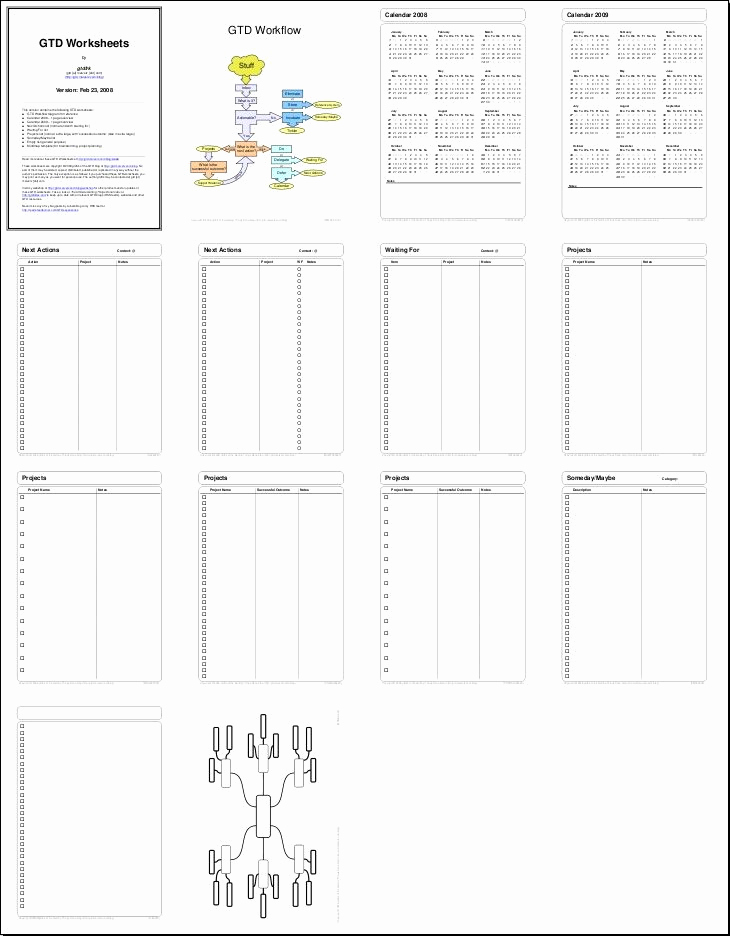 Evernote Project Management Template Elegant Pin by Hipskey On Bujo Gtd Tickler Printable Ceo
