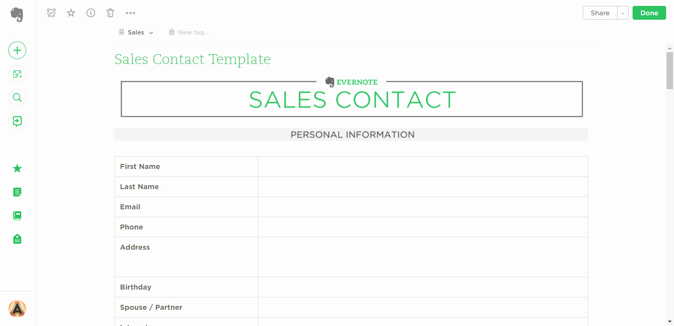 Evernote Project Management Template New 21 Evernote Templates & Workflows to Skyrocket