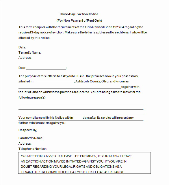 Eviction Notice Letter Template Luxury 38 Eviction Notice Templates Pdf Google Docs Ms Word