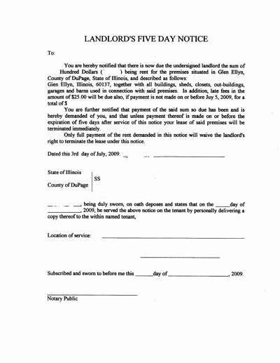 Eviction Notice Letter Template New Free Printable Letter Eviction form Generic