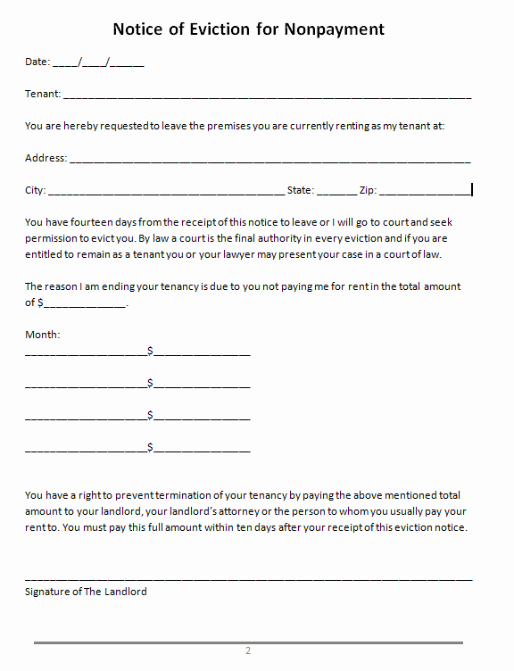 Eviction Notice Template Florida Awesome 45 Eviction Notice Templates & Lease Termination Letters