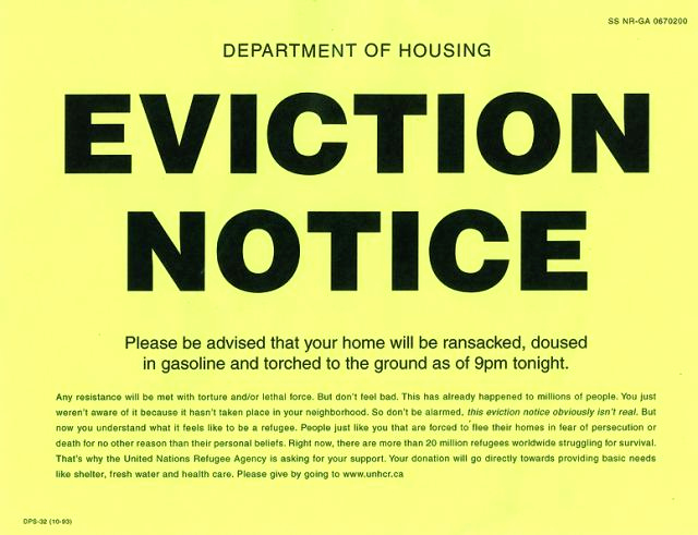 Eviction Notice Template Nc Awesome Eviction Notice the Latest Email Scam Containing Malware