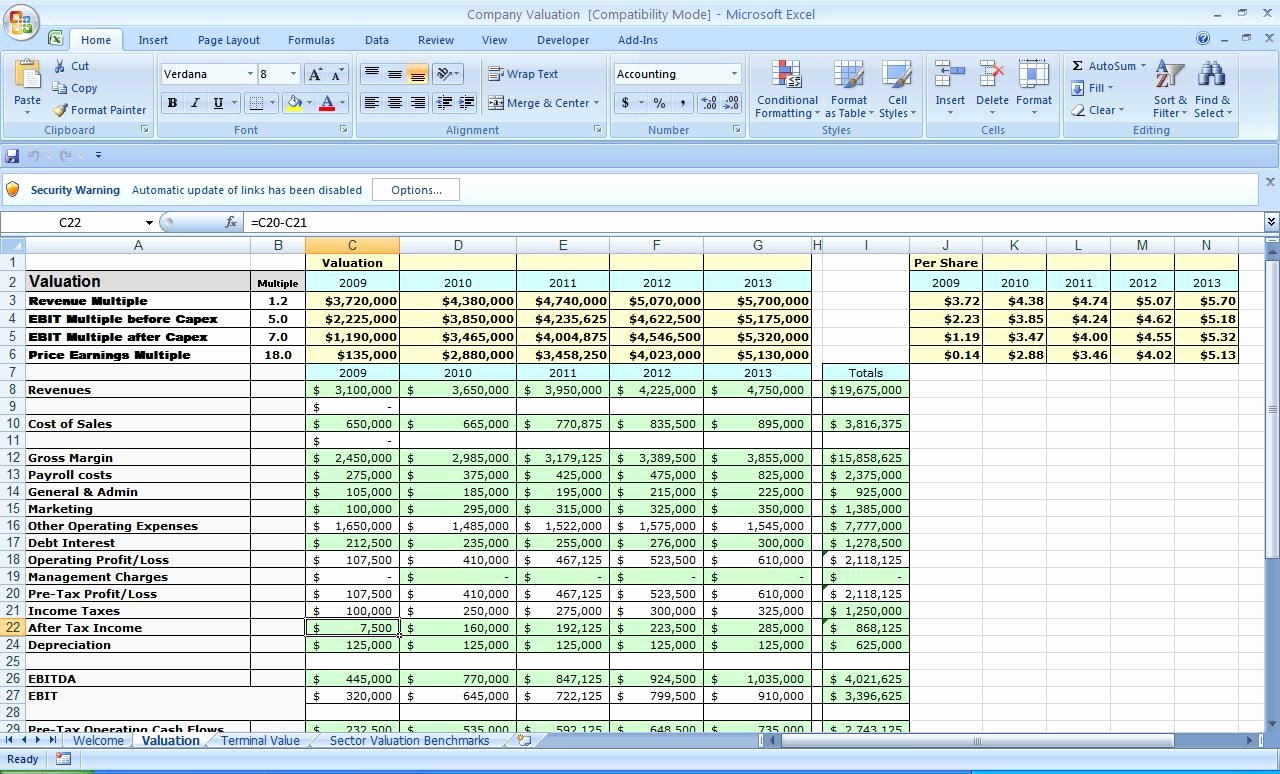 Excel Business Budget Template New Business Plan Template Excel
