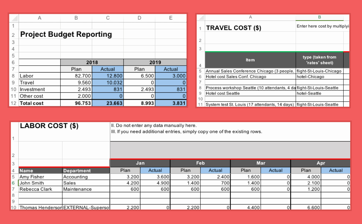 Excel Envelope Budget Template Elegant Project Bud Template Excel