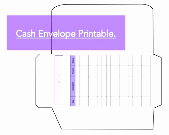 Excel Envelope Budget Template Fresh 25 Best Ideas About Cash Envelopes Pinterest Simple