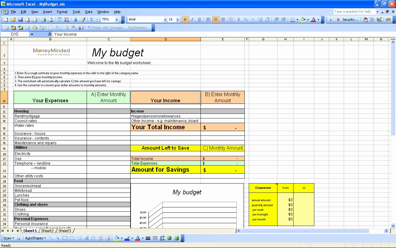 Excel Personal Budget Template Best Of 15 Free Personal Bud Spreadsheet Excel Spreadsheet
