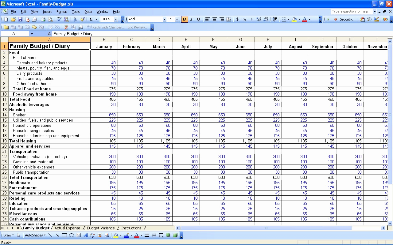Excel Personal Budget Template Inspirational 15 Free Personal Bud Spreadsheet – Excel Spreadsheet