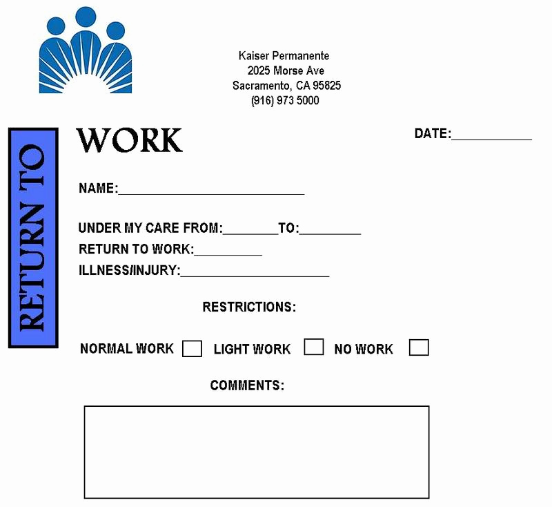 Fake Hospital Note Template Best Of Free Printable Doctors Note for Work