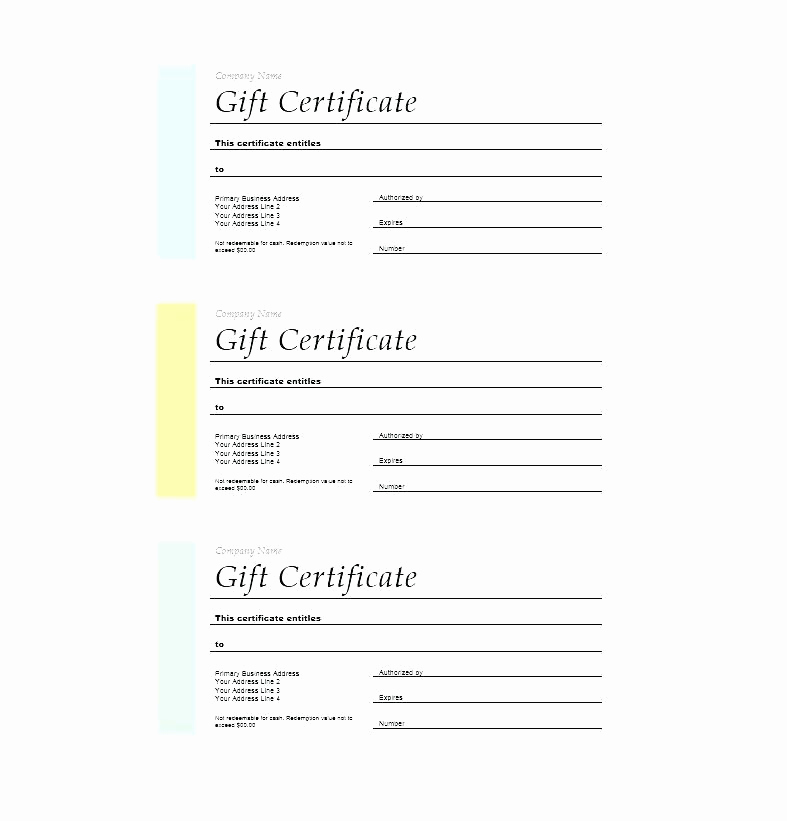 Fancy Gift Certificate Template Best Of 11 12 T Vouchers Templates for Word