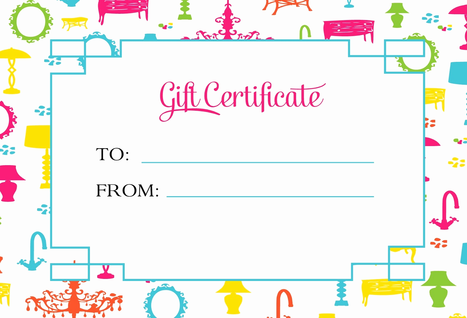 Fancy Gift Certificate Template Best Of Certificate Templates Editable Certificate Template for