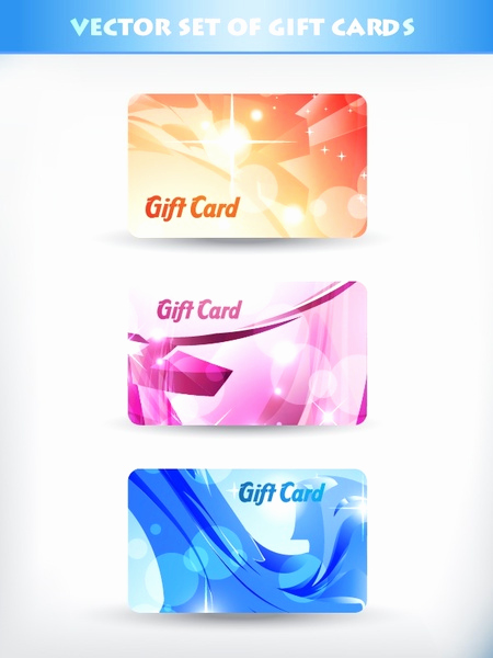 fancy t card template vector